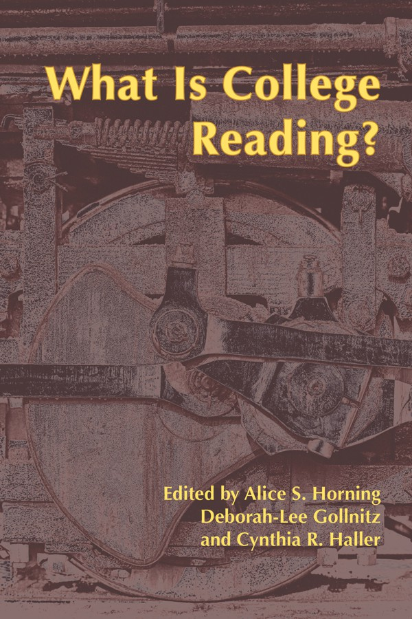 Book Cover: What Is College Reading?