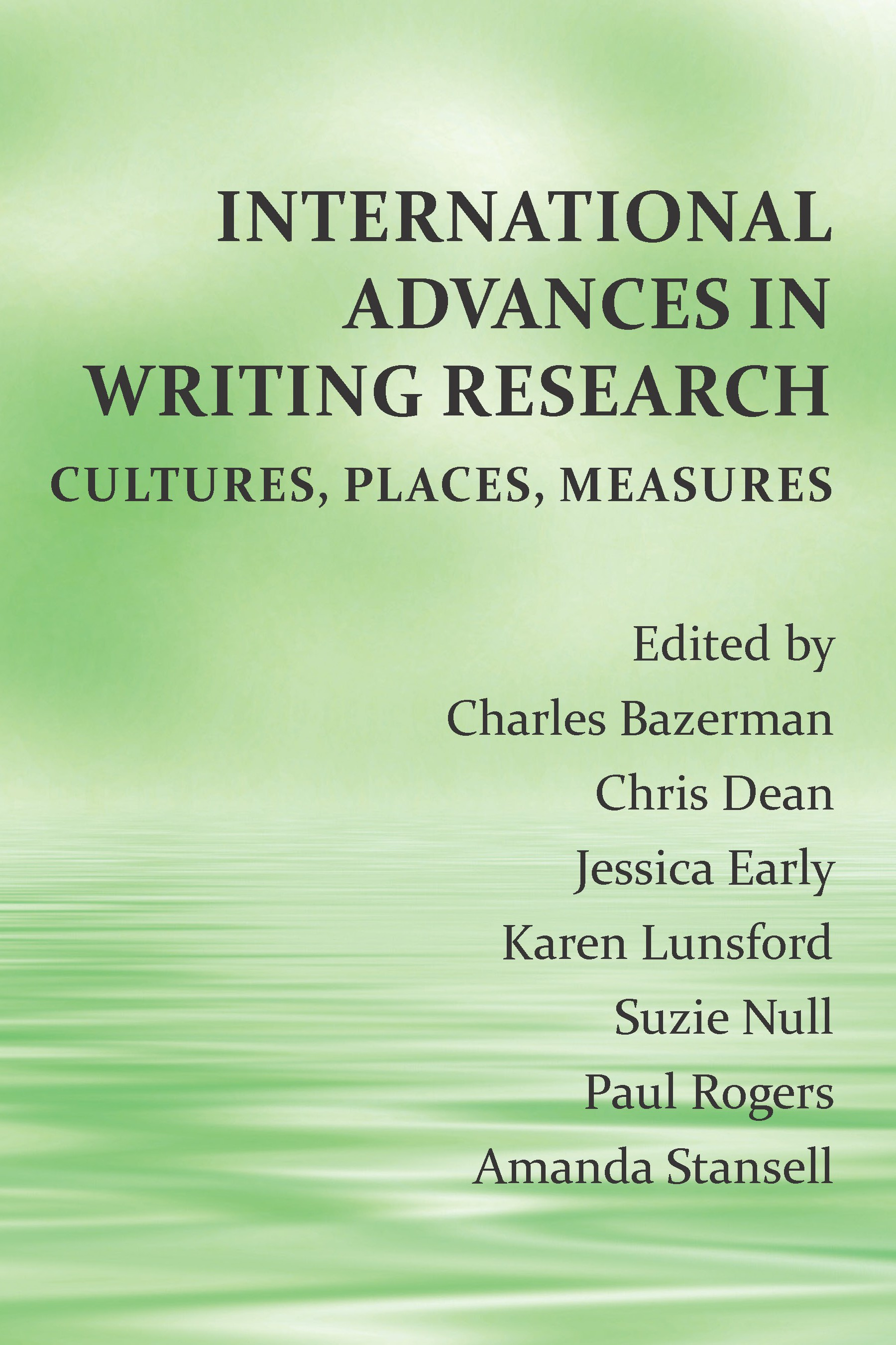 International Advances in Writing Research